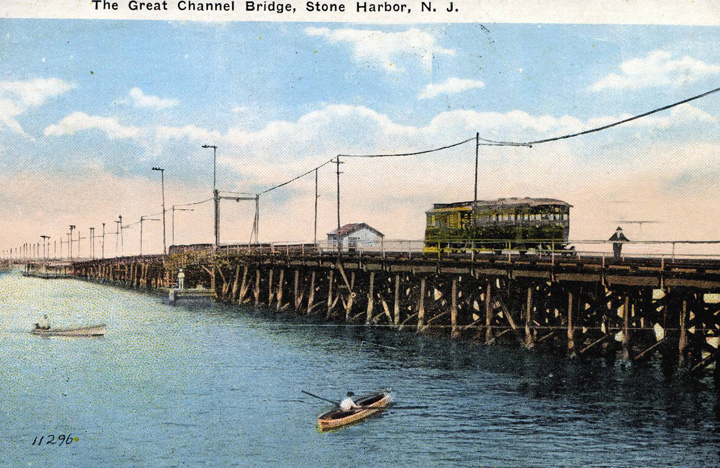 The Great Channel Bridge 1911
