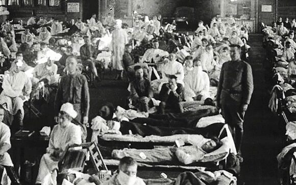 Spanish Flu Pandemic in 1918