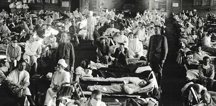 Spanish Flu Pandemic in 1918