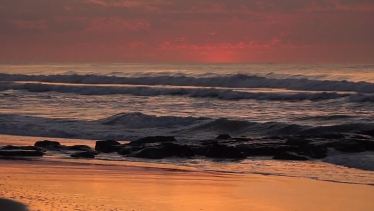Tranquility Tuesday #14 red Dawn