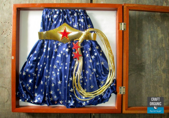 Wonder Woman Shadow Box 02
