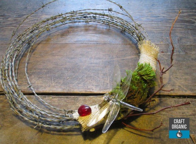 Barbed Wire Wreath 02