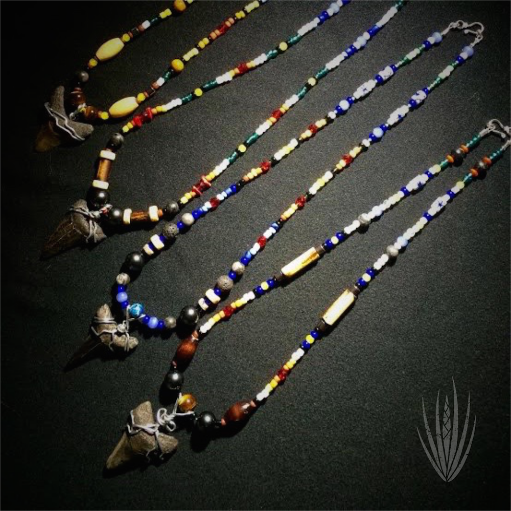 Prehistoric Shark Tooth Necklaces