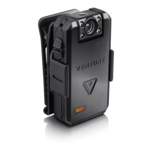 Venture bodycam mounted on clip