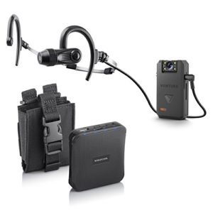 Venture bodycam headset and battery pack