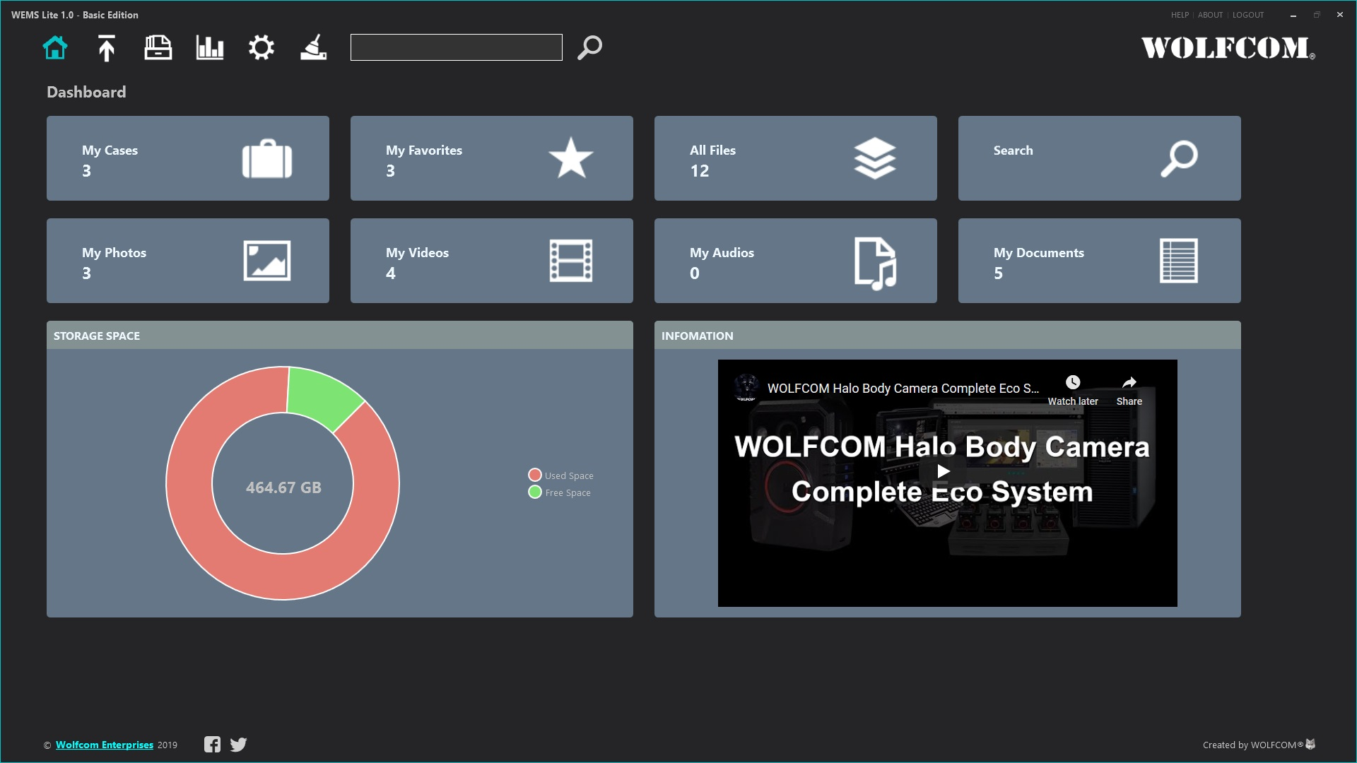 WEMS Lite Dashboard
