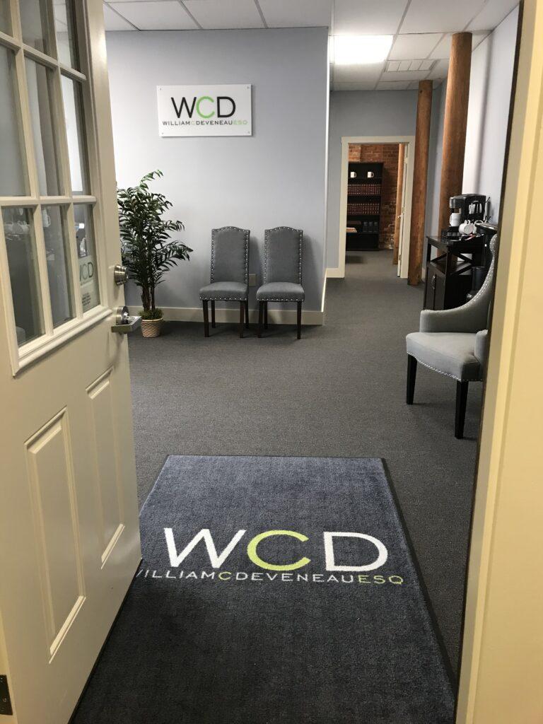 William C. Deveneau, Esq. PLC - Vermont Office Entrance