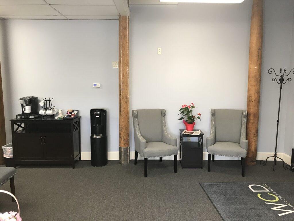 William C. Deveneau, Esq. PLC - Reception and Coffee Area