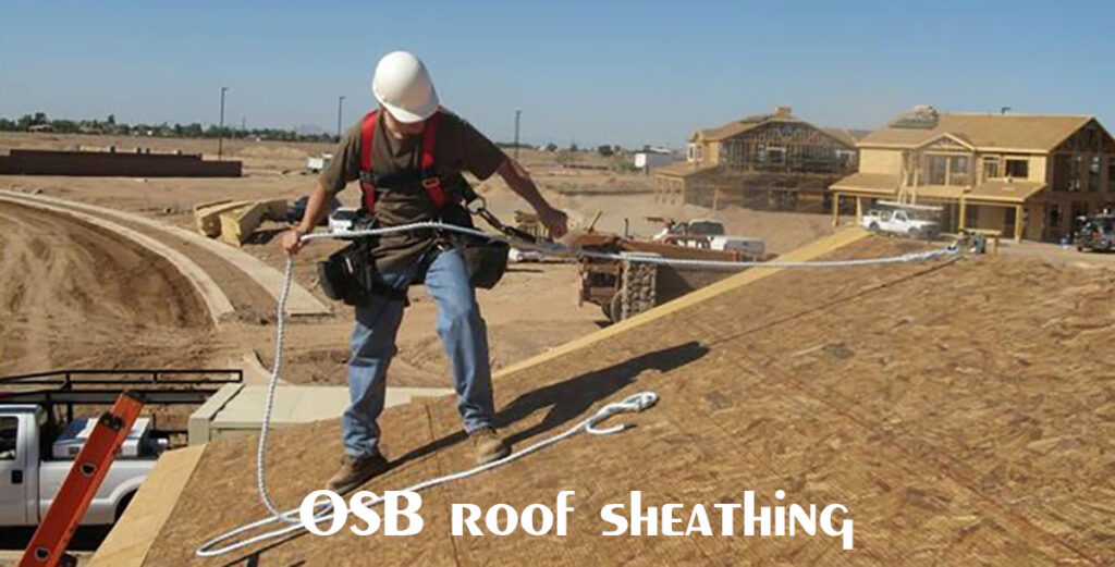 CDX roof sheathing