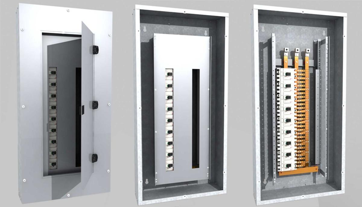 Digital Prototype Rendering Electrical Panel