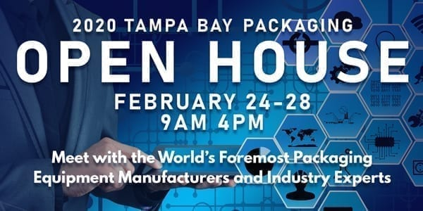 Tampa Bay Packaging Open House