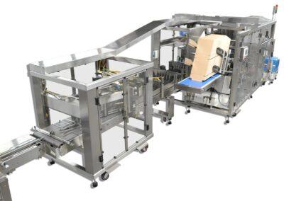 Wraparound Diverter Machine