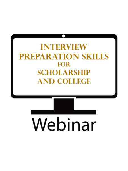 interview preparation skills for scholarships and college
