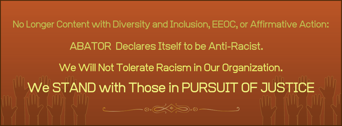 Abator's Anti-racist Notice