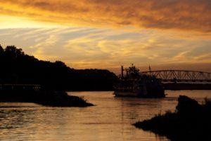 Hannibal MO sunset