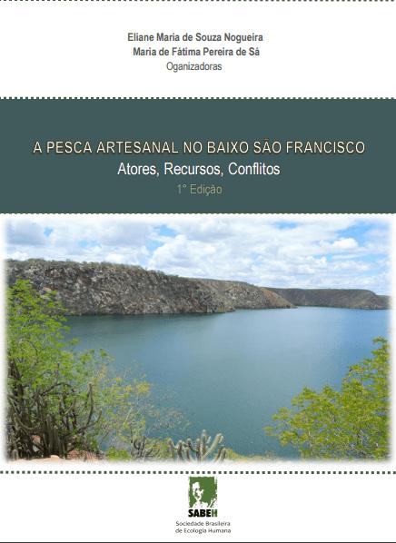 Capa de Livro: A pesca no baixo SãoFrancisco