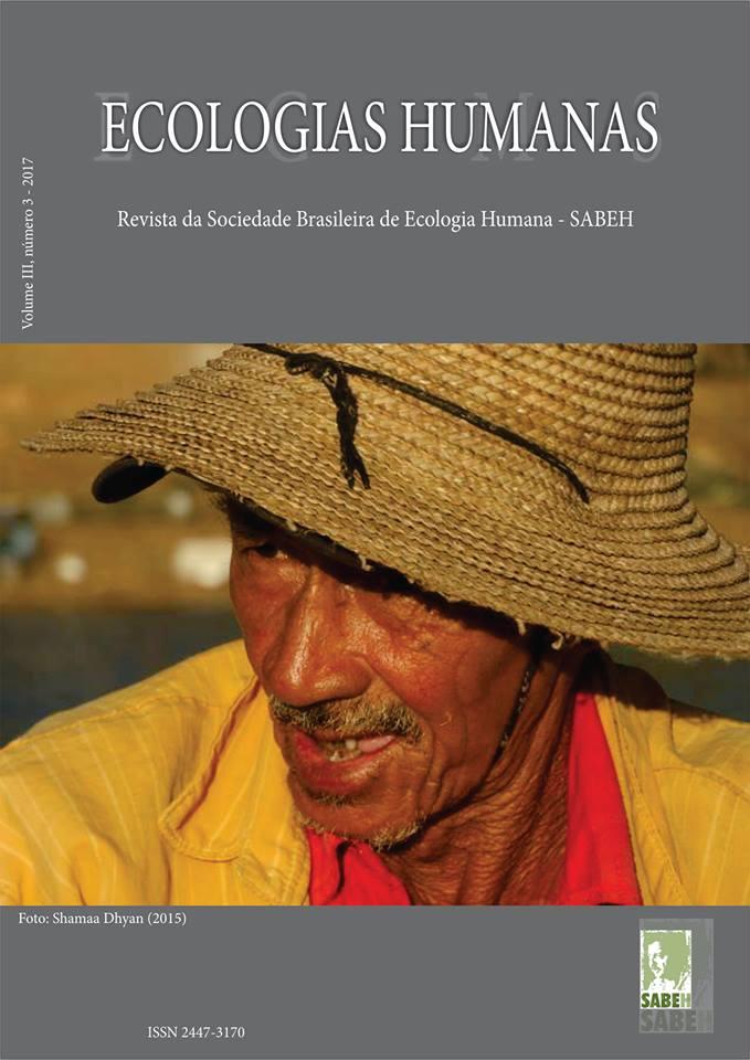 Capa de Livro: Revista Ecologias Humanas - Vol 3. nº. 3 - 2017