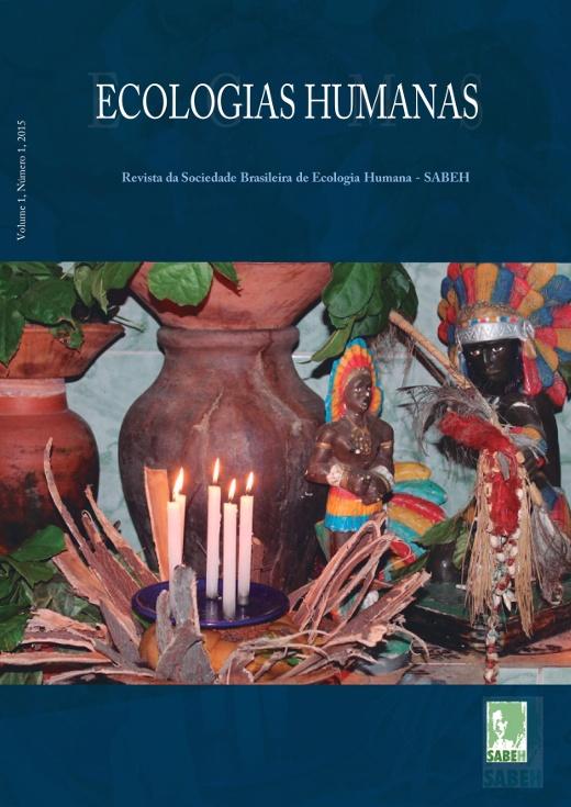 Capa de Livro: Revista Ecologias Humanas - Vol. 1 nº. 1 - 2015