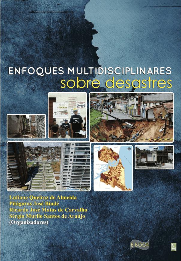 Capa de Livro: ENFOQUES MULTIDISCIPLINARES SOBRE DESASTRES