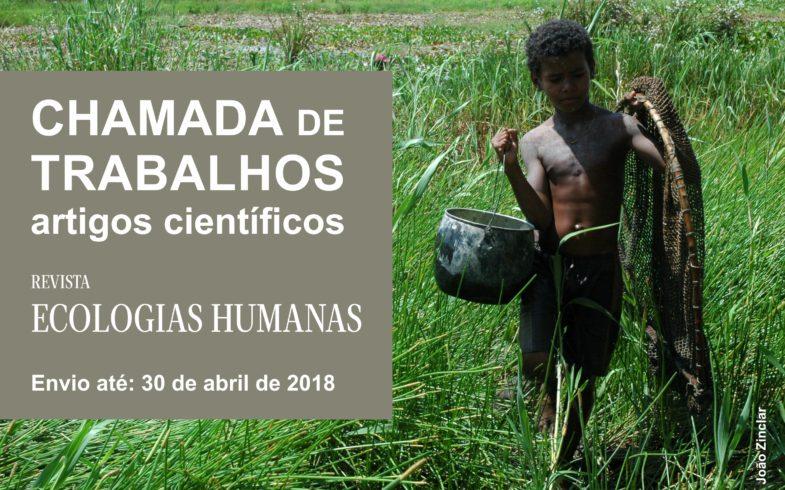 CHAMADA DE TRABALHOS: artigos científicos.