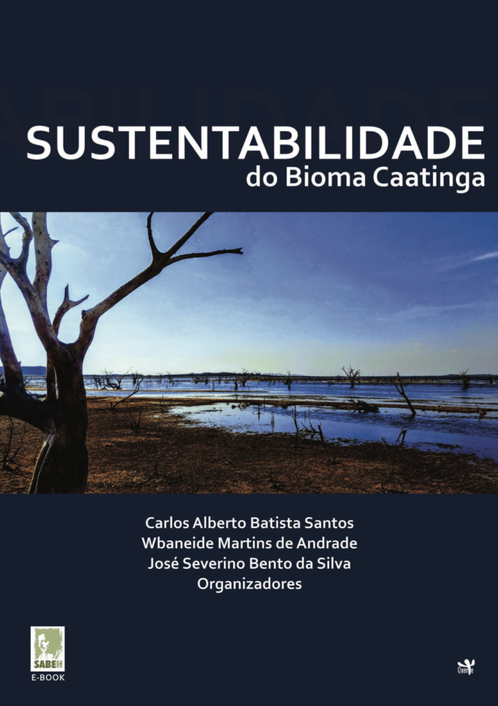 Capa de Livro: SUSTENTABILIDADE DO BIOMA CAATINGA