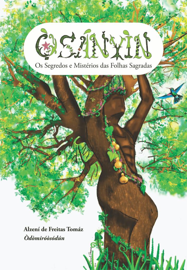 Capa de Livro: Òsányìn: Os Segredos e Mistérios das Folhas Sagradas