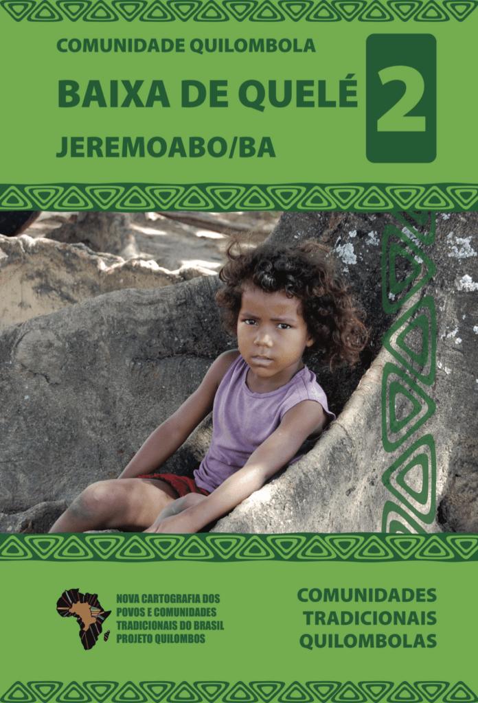 Capa de Livro: COMUNIDADE QUILOMBOLA BAIXA DE QUELÉ