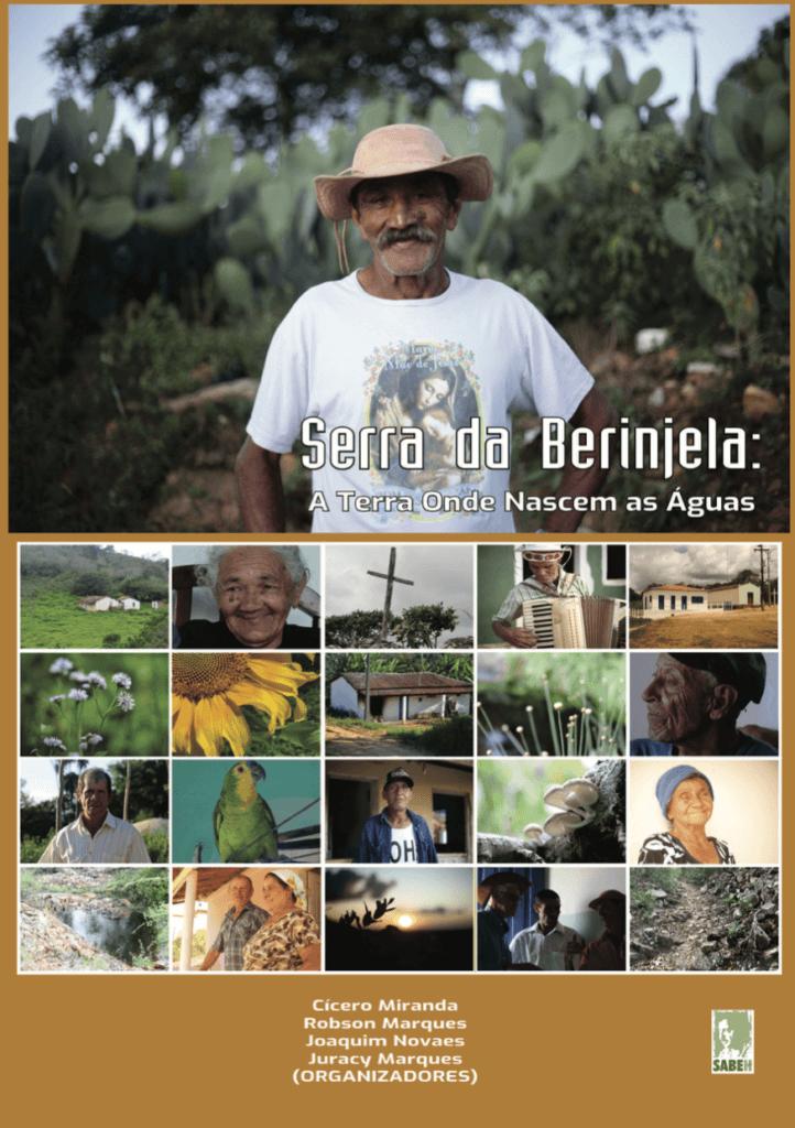 Capa de Livro: Serra Da Berinjela: A Terra Onde Nascem as Águas