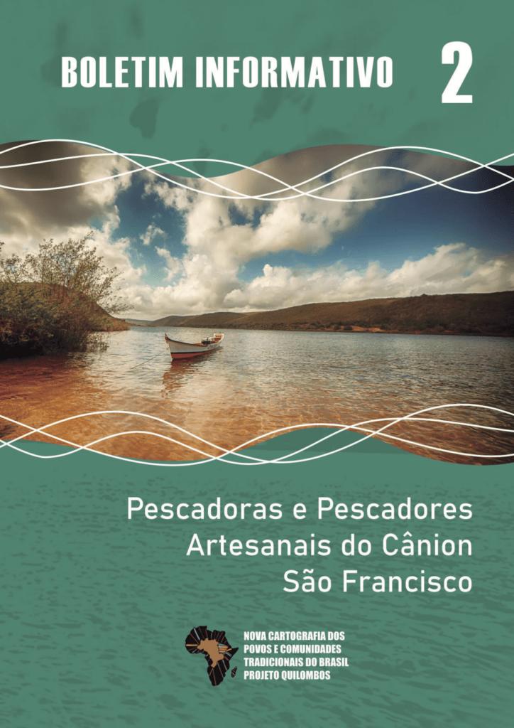 Capa de Livro: BOLETIM INFORMATIVO Pescadoras e Pescadores Artesanais do Cânion do São Franscisco