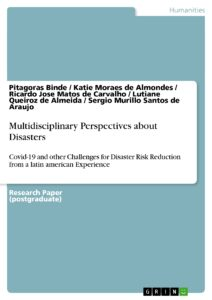 Capa de Livro: Multidisciplinary Perspectives about Disasters