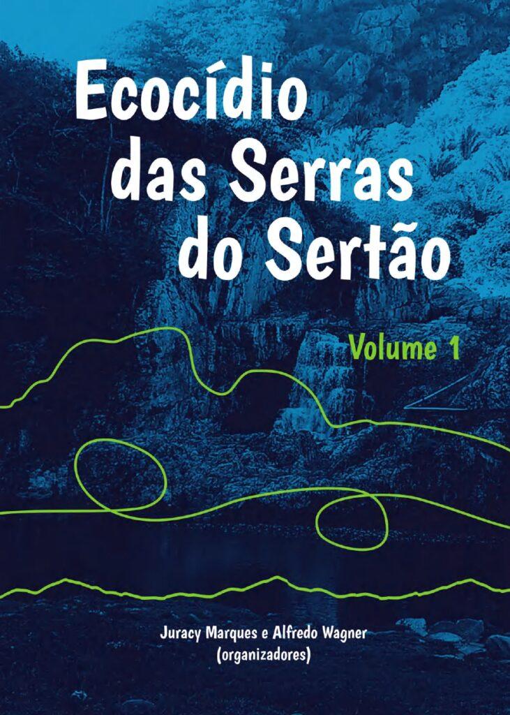 Capa de Livro: Ecocídio das Serras do Sertão