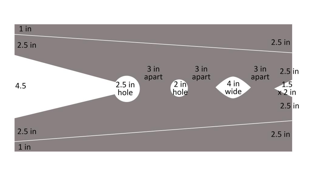 clothes pin measurements