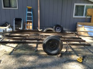 Bare Trailer Frame