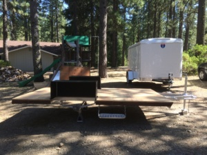 trailer with new sub-floor