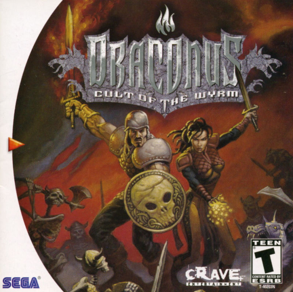 Draconus: Cult of the Wyrm - (Sega Dreamcast)