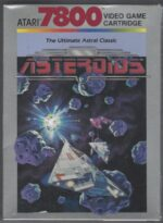 Asteroids - Atari 7800 game