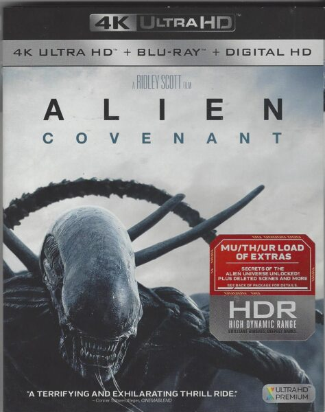 Alien Covenant - 4K + Blu-Ray