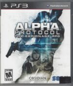 Alpha Protocol - Playstation 3 (PS3) Game