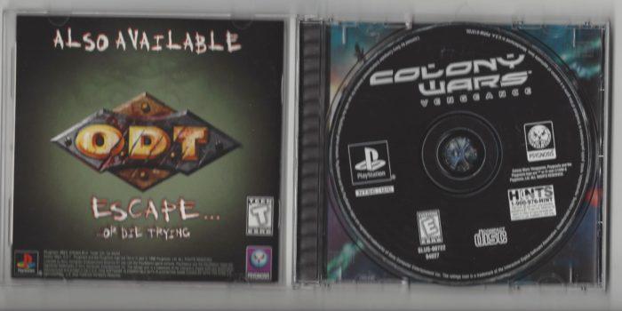 Colony Wars : Vengeance - Playstation (PS1)