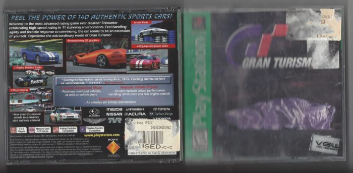 Gran Turismo Greatest Hits - Playstation (PS1)