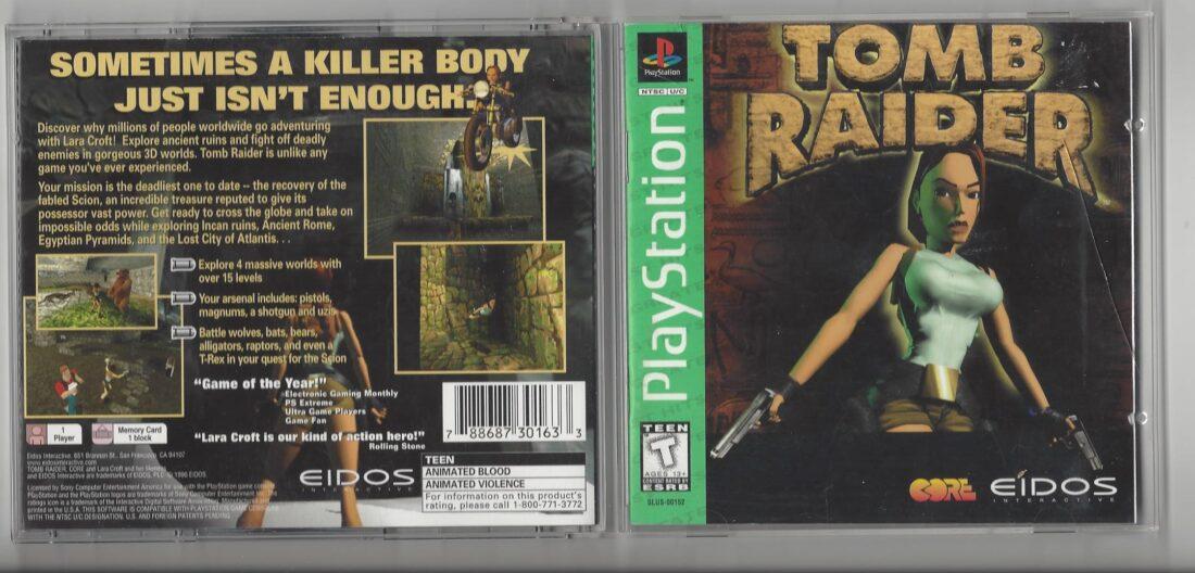 Tomb Raider Greatest Hits - Playstation (PS1)