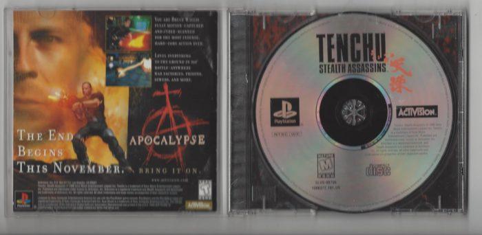 Tenchu : Stealth Assassins - Playstation (PS1)