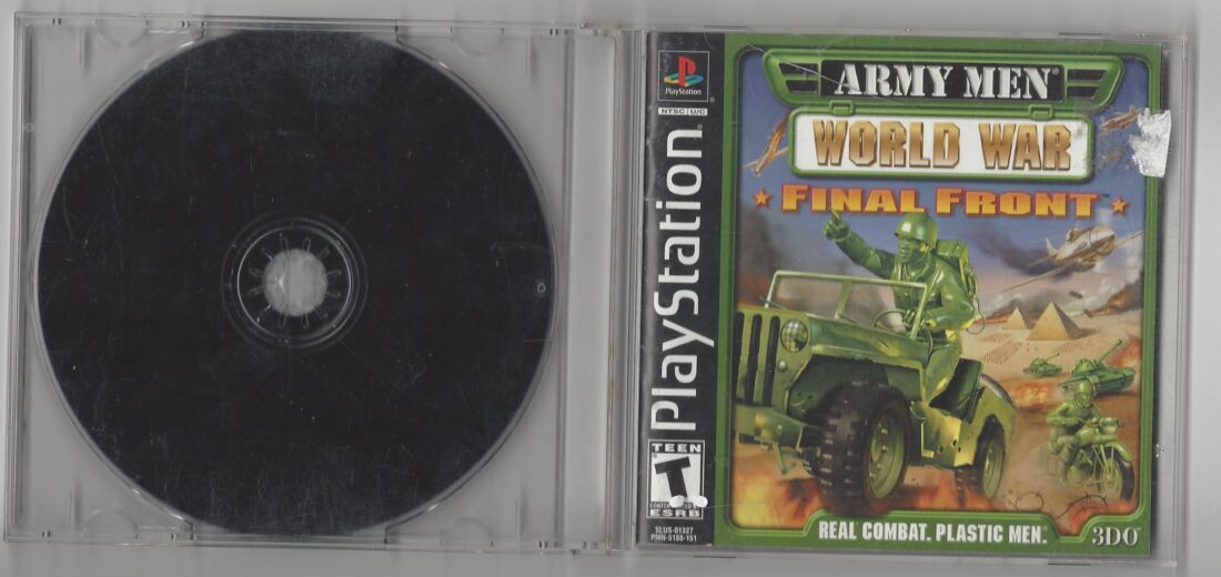 Army Men World War Final Front - Playstation (PS1)