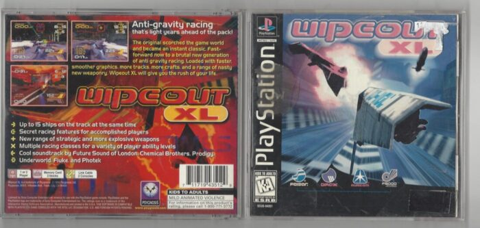 Wipeout XL - Playstation (PS1)