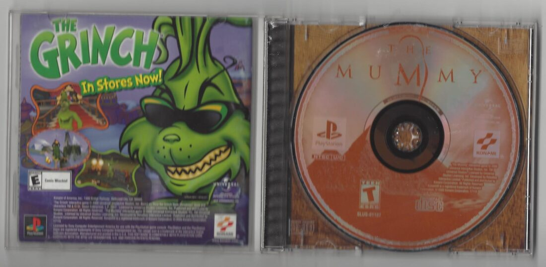 The Mummy - Playstation (PS1)