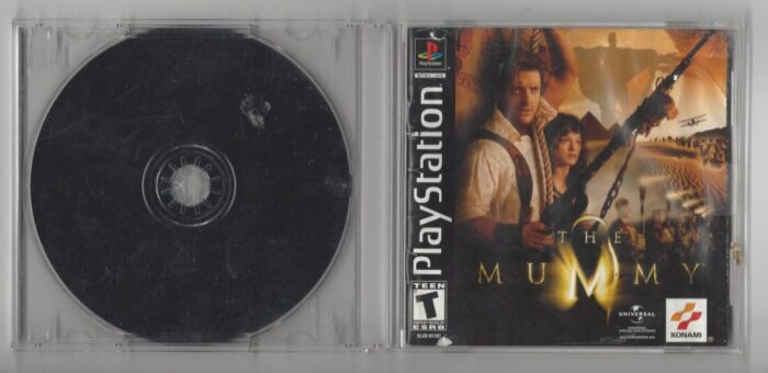 The Mummy - Playstation (PS1) Disc and Manual only