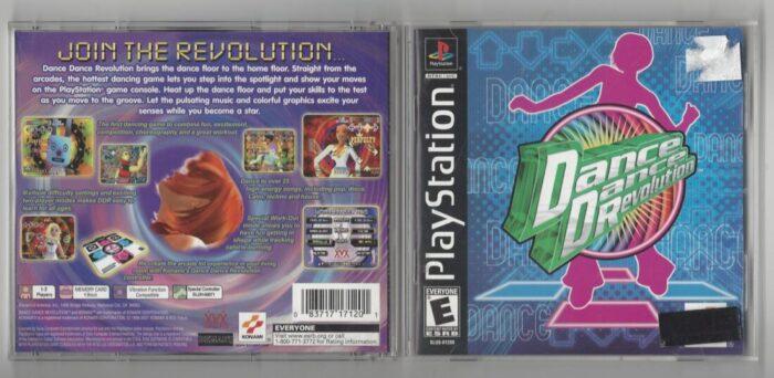 Dance Dance Revolution - Playstation (PS1)