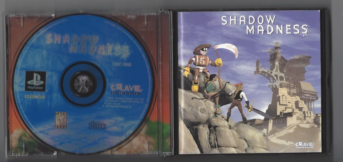 Shadow Madness - Playstation (PS1)