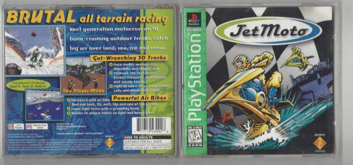 Jet Moto Greatest Hits - Playstation (PS1)