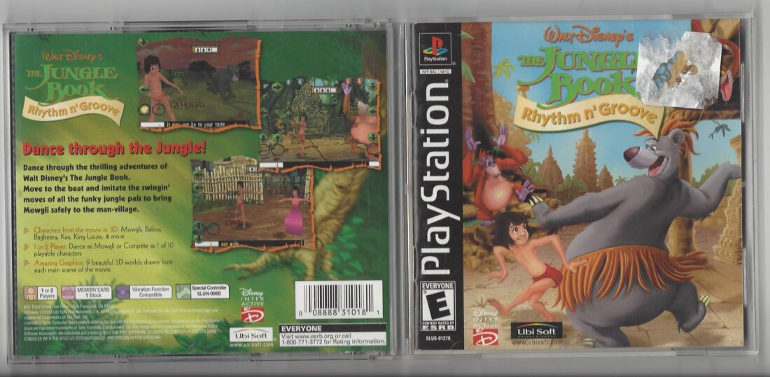Walt Disney's the Jungle Book Rhythem n' Groove - Playstation (PS1)